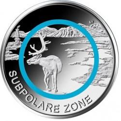 Duitsland 5 euro 2020 Subpolare Zone UNC