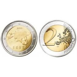 Estland 2 euro 2011 UNC - type 1