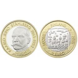 Finland 5 euro 2016 'Presidenten 1 - Kaarlo Juho Stahlberg´ Unc