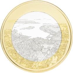 Finland 5 euro 2018 'Landschappen 2 - Helsinki´ Unc