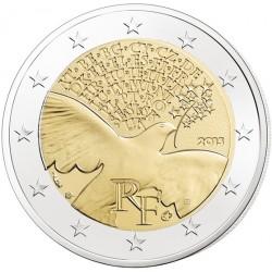 Frankrijk 2 euro 2015 '70 jaar vrede en vrijheid in Europa' UNC