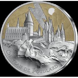 Frankrijk 50 euro 2021 HARRY POTTER - Hogwarts Castle 1 oz silver coin