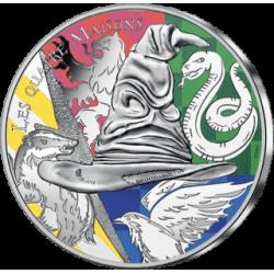 Frankrijk 50 euro 2021 HARRY POTTER - Four Houses 1 oz silver coin