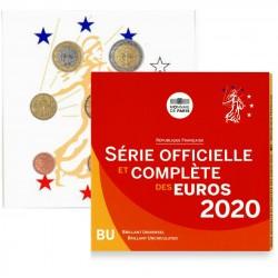 Frankrijk BU set 2020