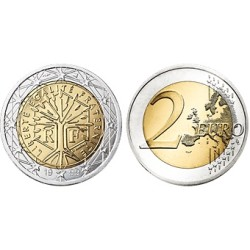 Frankrijk 2 euro 2019 UNC - type 2