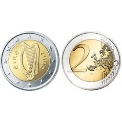 Ierland 2 euro 2007 UNC - type 2