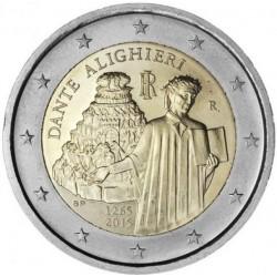 Italie 2 euro 2015 ´750ste geboortedag Dante Alighieri' UNC