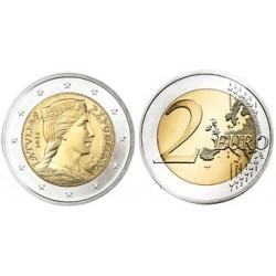 Letland 2 euro 2014 UNC - type 1