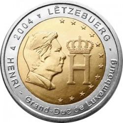Luxemburg 2 euro comm 2004 'Grootherthog Henri´ UNC