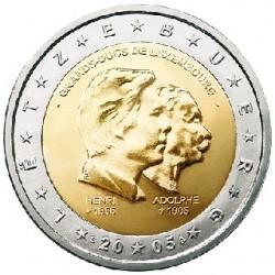 Luxemburg 2 euro comm 2005 'Henri en Adoplhe´ UNC