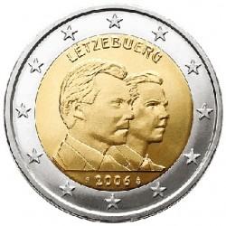 Luxemburg 2 euro comm 2006 '25e verjaardag Groothertog Guillaume (troonopvolger)´ UNC