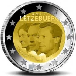 Luxemburg 2 euro comm 2011 'Jean lieutenant-représentant' UNC