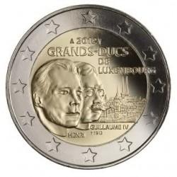 Luxemburg 2 euro comm 2012 'Guillaume IV' UNC