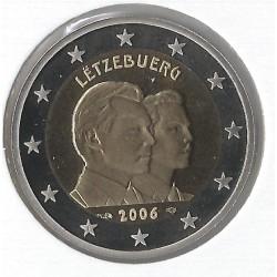 Luxemburg 2 euro comm 2006 'Groothertog Guillaume (troonopvolger)´ UNC Frans muntteken