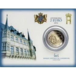 Luxemburg 2 euro 2012 'Guillaume IV´ BU Coincard