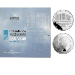 Luxemburg 25 euro 2005 Voorzitter Europese Raad - Proof