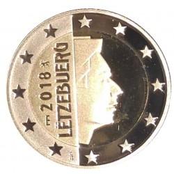 Luxemburg 2 euro 2018 UNC - type 4