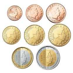 Luxemburg UNC set 2003