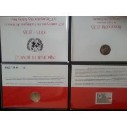 Monaco 2 euro comm 2013 Verenigde Naties BU blister coincard