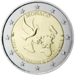 Monaco 2 euro 2013 Verenigde Naties UNC