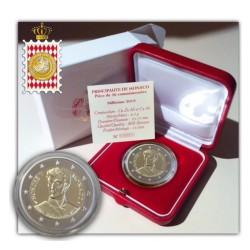 Monaco 2 euro 2019 Prins Honore V Proof