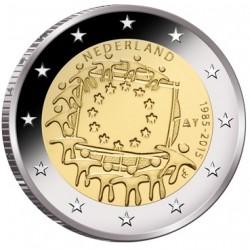 Nederland 2 euro 2015 'Europese Vlag' UNC
