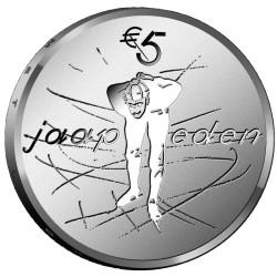 Nederland 5 euro 2019 Jaap Eden UNC