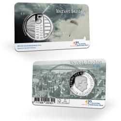 Nederland 5 euro 2019 Market Garden UNC in coincard