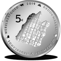 Nederland 5 euro 2019 Beemster UNC