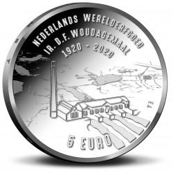 Nederland 5 euro 2020 Woudagemaal UNC