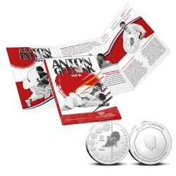 Nederland 5 euro 2021 Anton Geesink zilver proof