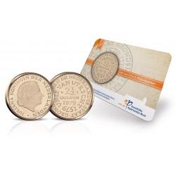 Nederland 2,50 gulden 1979 - Unie van Utrecht - UNC in coincard