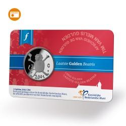Nederland 1 gulden 2001 - laatste gulden - UNC in coincardn!