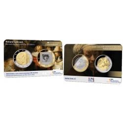 Nederland 2 euro 2019 'Holland Coin Fair Coincard 2019: Schilders 1 - Rembrandt