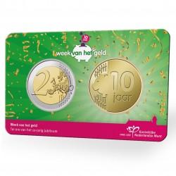 Nederland 2 euro 2021: Week van het Geld coincard