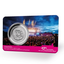Nederland 2019 penning in coincard - 50 jaar Pinkpop