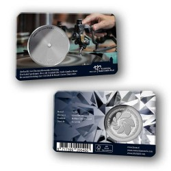 Nederland 2019 penning in coincard - Ambacht van Diamantbewerker