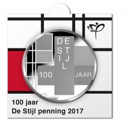 munthouder 11 - Muntmanifestatie 2017 - Nederland - De Stijl Penning