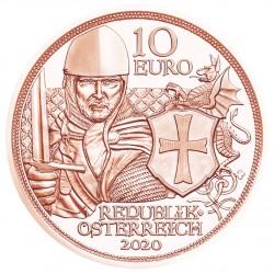 Oostenrijk 10 euro 2020 Dapperheid (koper) UNC