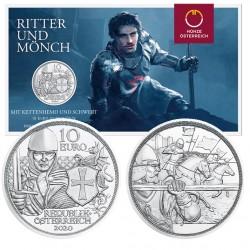 Oostenrijk 10 euro 2020 Dapperheid - zilver BU in blister