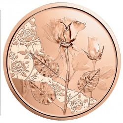 Oostenrijk 10 euro 2021 De Roos (koper) UNC