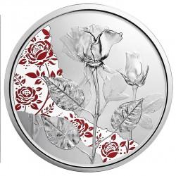 Oostenrijk 10 euro 2021 De Roos (zilver) proof