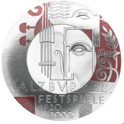 Oostenrijk 20 euro 2020 Salzburg Festival Proof coin