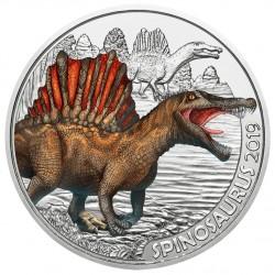Oostenrijk 3 euro 2019 Dinosaurussen: 1 Spinosaurus UNC