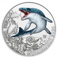 Oostenrijk 3 euro 2020 Dinosaurussen: 2 Mosasaurus UNC