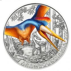 Oostenrijk 3 euro 2020 Dinosaurussen: 3 Arambourgiania Philadelphiae UNC