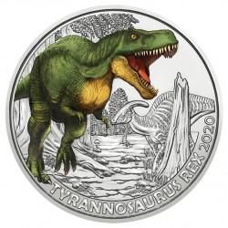 Oostenrijk 3 euro 2020 Dinosaurs: 5 Tyrannosaurus Rex UNC