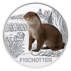 Oostenrijk 3 euro 2019 De Otter UNC