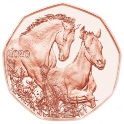 Oostenrijk 5 euro 2020 Vrienden voor het leven Paas munt UNC