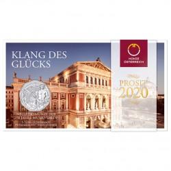 Oostenrijk 5 euro 2020 Neujahrsmunze - Musikverein Zilver in blister